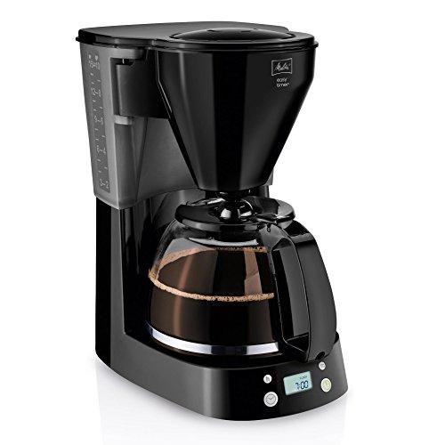 Melitta 1010-14, 215782  Filterkaffeemaschine (EASY Timer, Programmierbare Warmhaltezeit) Schwarz