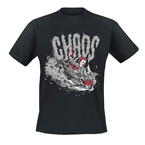 Chaos Messerschmitt - Clown T-Shirt, Größe: XL
