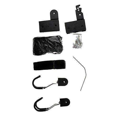 Milageto Premium Kayak Hoist Pulley System Hardware para Garaje para ascensor