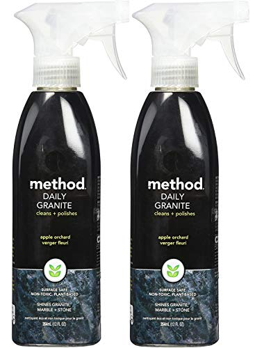 Method Products Granite And Marble Cleaner Spray 12 oz - 2 pack