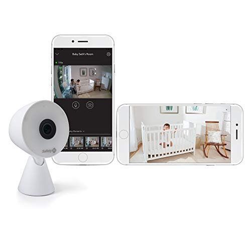 NEW Safety 1st HD WiFi Streaming Baby Monitor Camera With Movement Detection Free Mobile App & Wireless HD Streaming