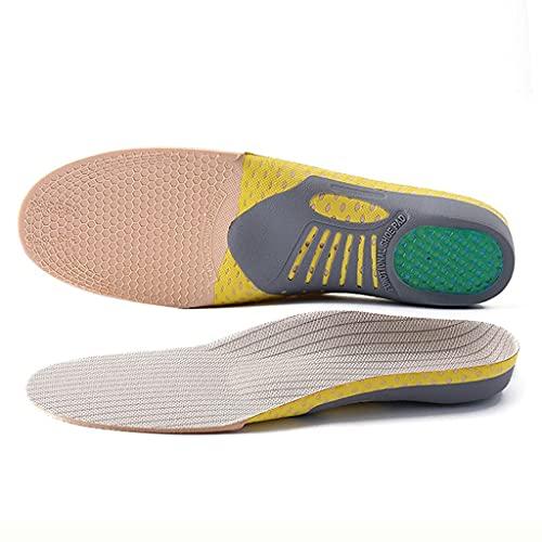 Suave Corrección deportiva Desodorante elástico Desodorante Running Air Cushion Plantillas Zapatos de hombre Plantillas de mujeres Pad Orthopedic Pad Memoria de espuma (Color: 4 pares, Tamaño: 35-40 (