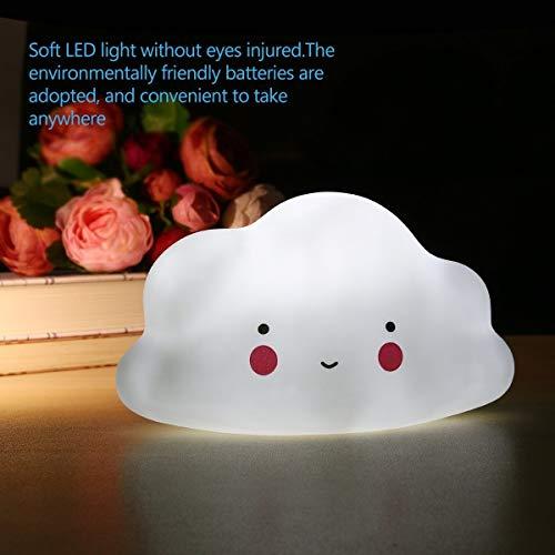 Veilleuse blanc nuage Mini lampe jouet dans la maison pour chambres d'enfants - Pour décorer pouponnière lampe by ARTUROLUDWIG