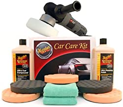 PORTER-CABLE Meguiars XP Ultra Polish Kit with 5.5 Inch Pads