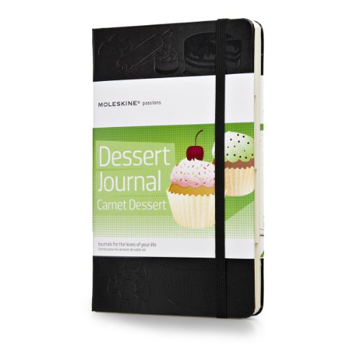 Moleskine Passions Quaderno Passion Journal da Dessert, Nero