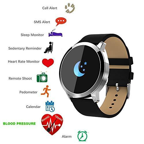 Smart Watch Bluetooth tkstar Smartwatch Sport Smart Armband Online Activity Tracker, wasserdicht, mit Touch Screen für IOS android