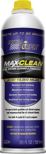 Royal Purple 11722 Max Clean Fuel System Cleaner and Stabilizer