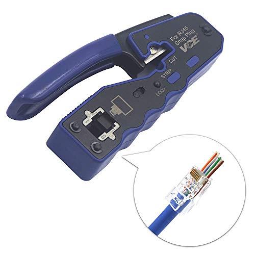 VCE Professionell Netzwerk Werkzeug RJ45 Crimpzange Netzwerkkabelzange