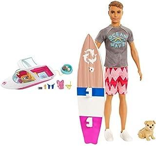 Barbie Dolphin Magic Ocean View Boat Playset AND Barbie Dolphin Magic Ken Doll