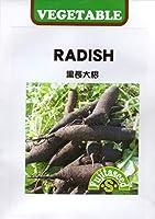 【種子】 RADISH 黒長大根 藤田種子のタネ