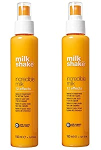 Z. One Milk Shake Incredible Milk 12 Effects Duo Pack 2 x 150 ml Tratamiento spray profesional anti Crespo anti dobles puntas 12 efectos 300 ml. Promoción envío gratuita