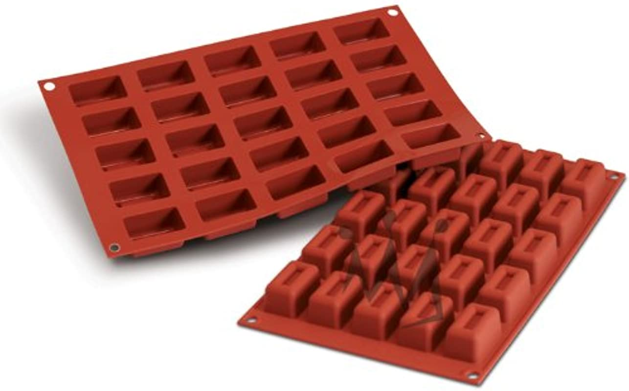 Professional Silikomart Uniflex Small Lingotto Silicone Mold Baking Pan