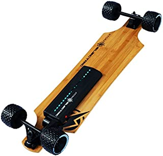 Atom Longboards Electric B10X All Terrain Longboard Skateboard (90Wh Lithium Battery & 1000W Motor), Wood