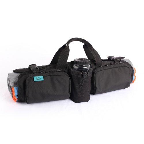 Hotdog Yoga Rollpack, Black/Atlantic Blue