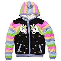Sherpa Lined Sweater Jacket for Girls