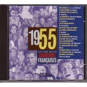 Les plus belles chansons françaises 1955