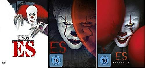 Stephen Kings Es 1-3 / Original + Neuverfilmung Kapitel 1+2 [DVD Set]