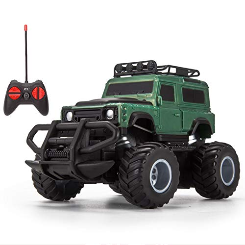 LJKD Niño niña Control Remoto Jeep Juguete niños niño cumpleaños Control Remoto camión vehículo,A6