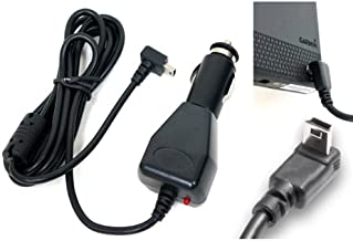 "ChargerCity 12v Garmin Nuvi 2xx 11xx 12xx 14xx 2200 2300 2350 2360 2370 2450 2457 2497 2539 2555 2557 2559 2597 2598 2639 2689 2699 3550 3750 3760 40 42 44 50 52 54 55 56 57 58 65 67 68 GPS Vehicle Power Cable Car Charger Adapter with extended 6FT Straight Cord, custom ""L"" Shape Connector & magnetic ferrite to prevent Electro-Magnetic shock w/ChargerCity direct replacement warranty (Best Replacement for Garmin 010-11838-00 / 010-10723-06 / 010-10723-14 / 010-10851-11 / 010-11478-03)"