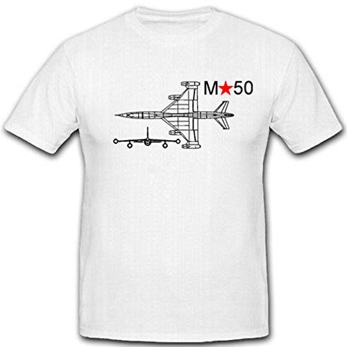 M50 Russisch prototype vliegtuig militaire Sovjet-jet test luchtwapen Mjassisch tschew - T-shirt #2706