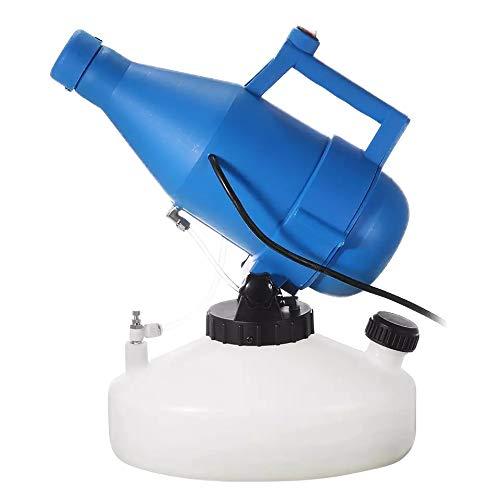 BCASE Nebulizador Eléctrico ULV, 1400 W, Atomizador Portátil con Capacidad de 4.5 L, Desinfectante, Ideal para Jardines y Otros Espacios Públicos, Ahorra Tiempo y Trabajo.