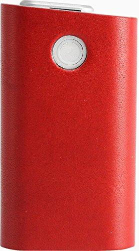 glo グロー ケース 本革 栃木レザー カバー 日本製 職人 手作り ハンドメイド 赤 レッド まるっと 全貼り 44A-RD