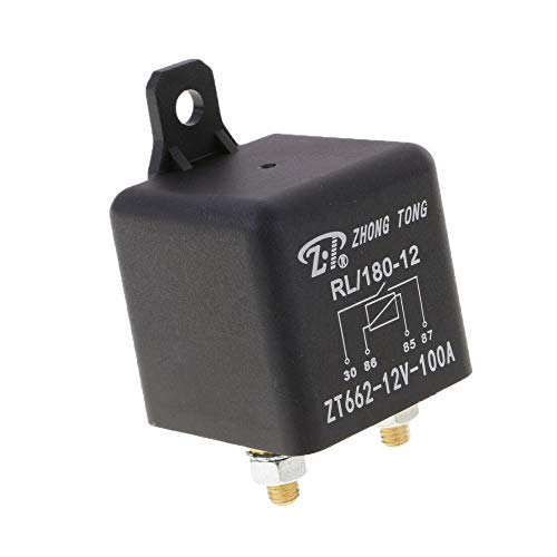 JD1912 Automotive Relay 4-Pin 40A 12V SPDT Car Truck Van Motorcycle Boat Relay,1 Pack