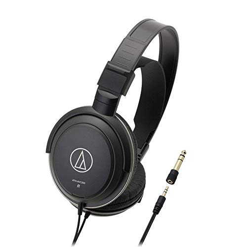 Audio-Technica ATH-AVC200 Home Studio Closed-Back Over-Ear Headphones
