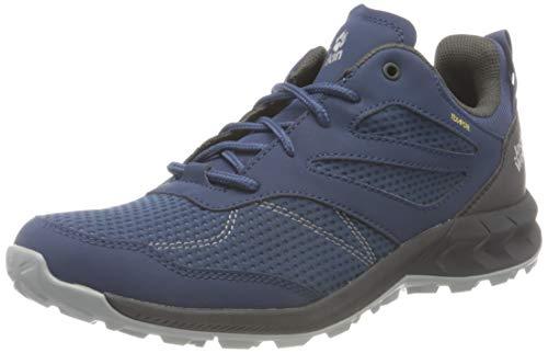 Jack Wolfskin Woodland Texapore Low Walking-Schuh, Dark Blue/Phantom Weit, 45 EU