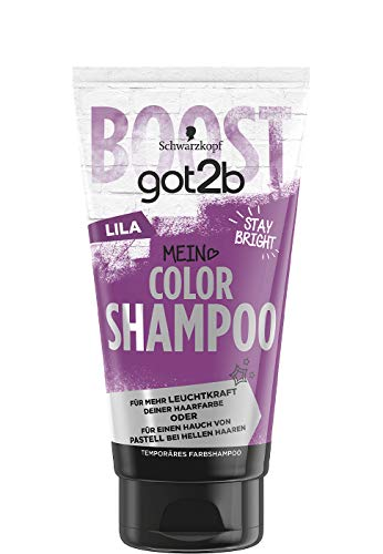 3er Pack Schwarzkopf got2b Stay Bright Color Shampoo Lila je 150ml Farbshampoo