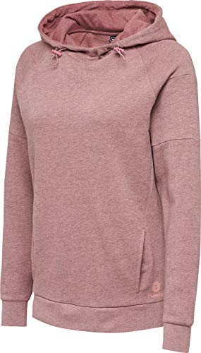 Hummel Damen hmlACTIVE Cotton Hoodie Woman, Rose Melange, XS
