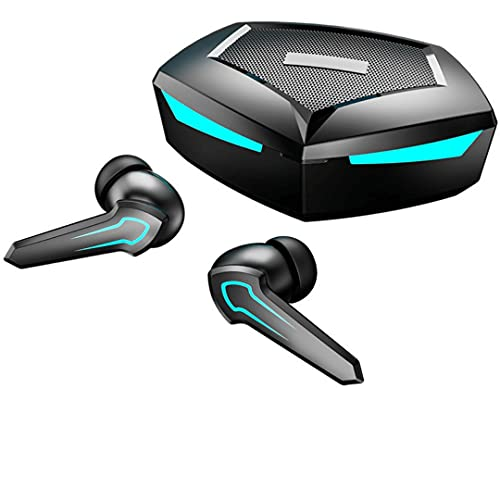 P36 Auricolari Gaming Bluetooth 5.2 TWS Da Gioco per Smartphone Cellulare PC PS5 XBOX (Nero)