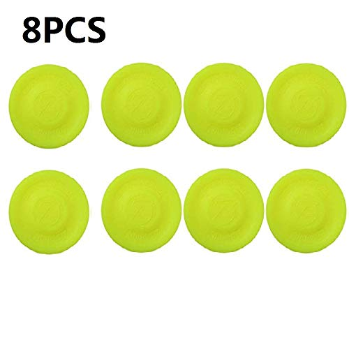 MILUUK Zip Chip Frisbee, Mini Flying Kreative Hand-Push-UFO-Tasche Flexible Toys, Fangspiel Flying Disc für Erwachsene und Kinder Outdoor Beach Sports Toy (6PCS)