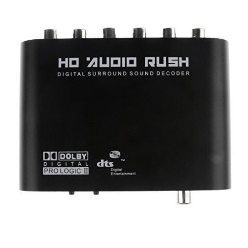 Sharplace 1pcs Spdif Coassiale A 5.1 Ac3/Dts Audio Decoder Audio Surround Rumore Per PC