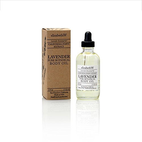 elizabethW Lavender Body Oil - 4 ounces