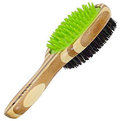 Dog Bathing Brush, Dog Shampoo Brush for Massage...