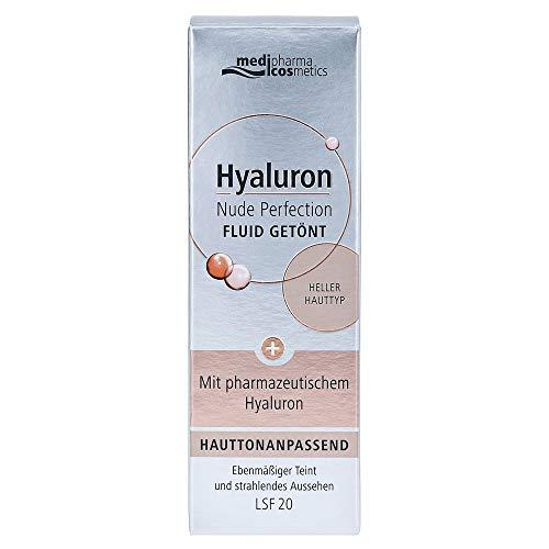 HYALURON NUDE Perfect Fluid getönt hell HT LSF 20, 50 ml