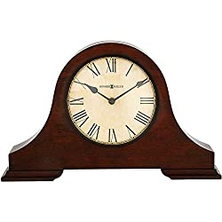 Howard Miller Humphrey Mantel Clock 635-143 – Hampton Cherry Wood with Quartz Movement