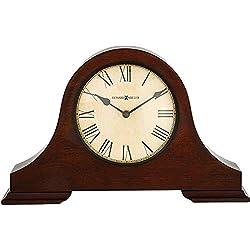 Howard Miller Humphrey Mantel Clock 635-143 – Hampton Cherry Wood with Quartz Movement
