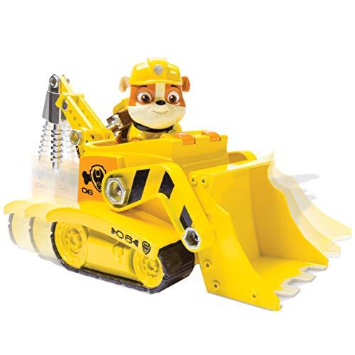 Paw Patrol - Bulldozer con grúa Recoge escombros (Spin Master 6027648)