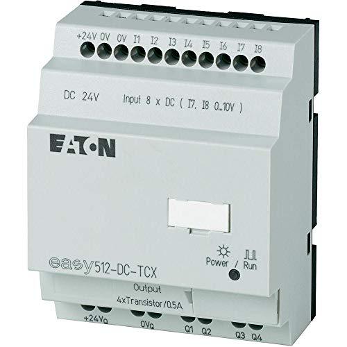 Eaton 274112 Steuerrelais, 24VDC, 8Di(2Ai), 4Do-Transistor, Uhr
