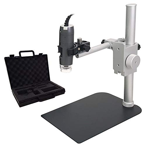 Dino-Lite Microscope Kit with Tabletop Stand and Carrying Case (AM7115MZT/RK-06A)