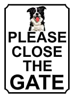 ゲートを閉じてくださいティンサイン装飾ヴィンテージ壁金属プラークカフェバー映画ギフト結婚式誕生日警告のためのレトロな鉄の絵画