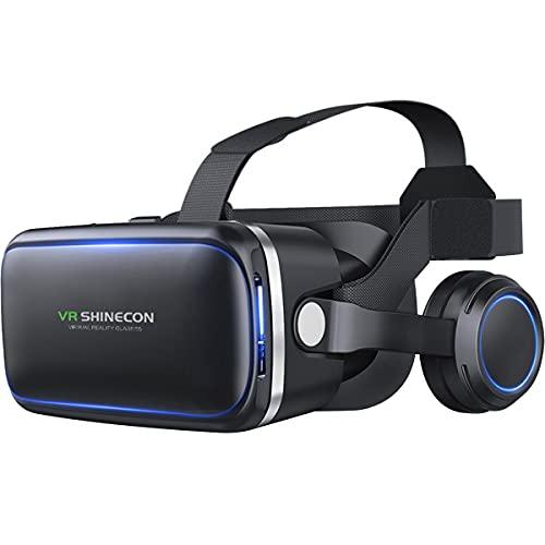 Óculos Vr Realidade Virtual 3d Com Fone De Ouvido E Controle