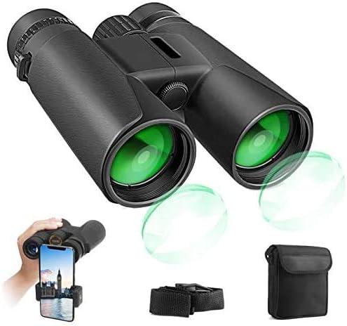 25 opiniones para Prismáticos Profesionales, 12x42 HD Prismaticos Vision Nocturna Débil con