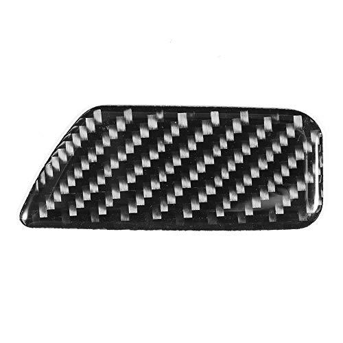 Yctze Auto Box Schalter Trim, Carbon Aufbewahrungsbox Schalter Panel Dekoration Verkleidungsdekoration Abdeckung Trim Fit für A3 8V 2014-2019