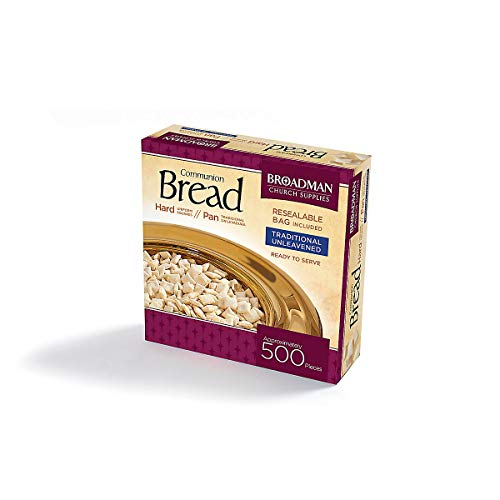 Top communion bread 5 oz, approx. 500 pieces for 2020