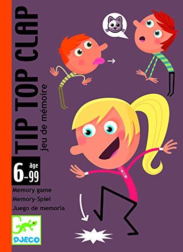 Djeco DJ05120 Kartenspiele: Tip Top Clap