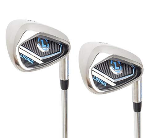 LAZRUS Premium Golf Driving Irons Set for Men (2&3) Right Hand Steel Shaft Regular Flex Golf Clubs -...