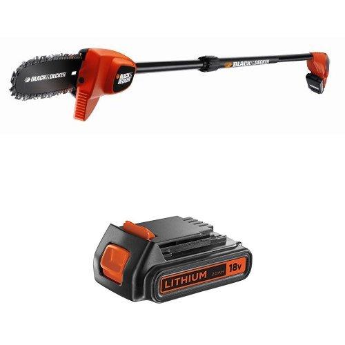 BLACK+DECKER GPC1820L20-QW Sega Potatrice a Batteria Litio, 18 V, 2.0 Ah più